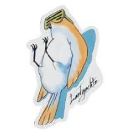 LANDYACHTZ CHILL BIRD STICKER
