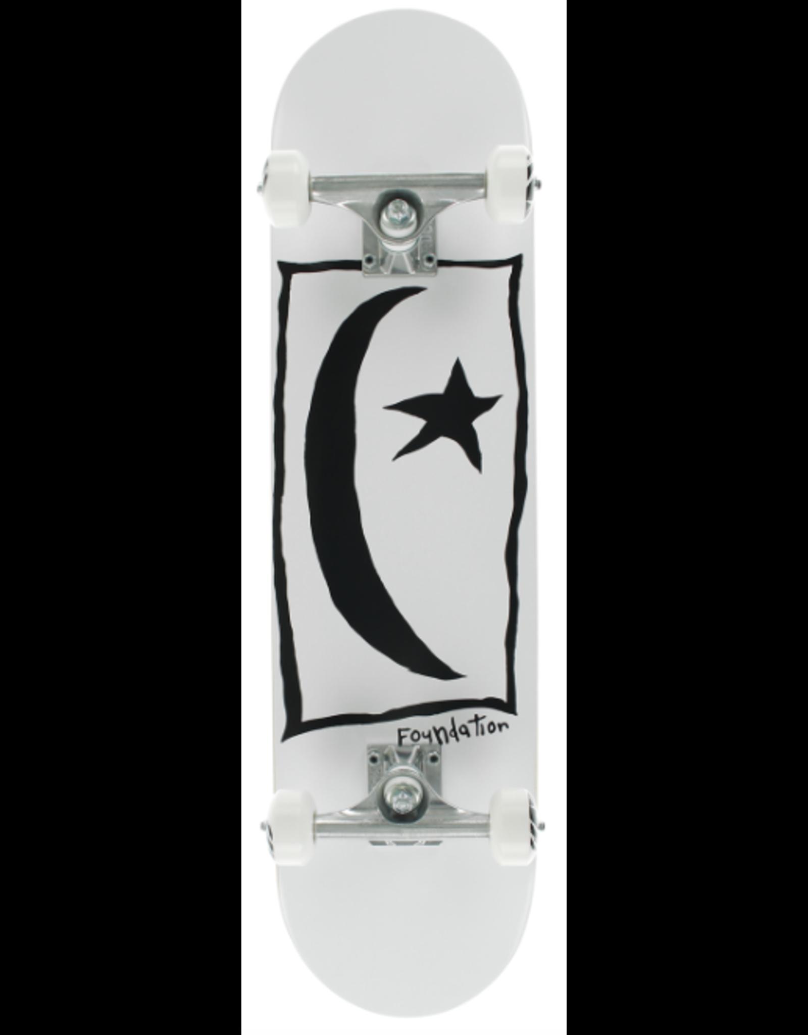 FOUND STAR & MOON SQUARE COMPLETE-7.6 WHITE