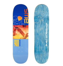 ALIEN WORKSHOP ALIEN WORKSHOP MONTANO ROLLING SHUTTER DECK - 8.5 PURPLE/BLUE