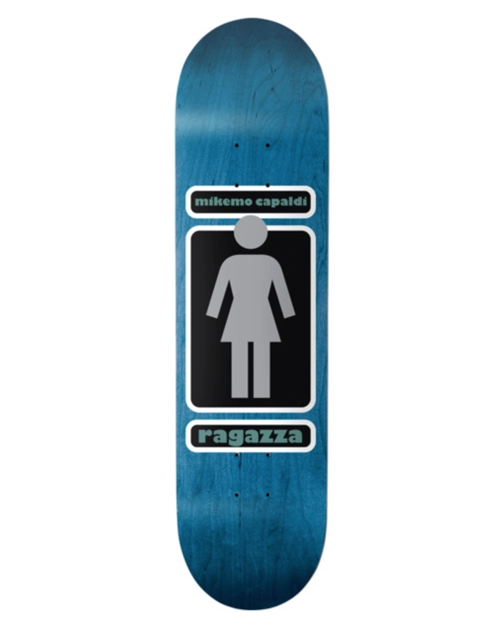 "GIRL Girl Skateboards Mike Mo Capaldi 93 Til WR39D3 Skateboard Deck - 8.12"" x 32"""