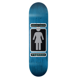"GIRL Girl Skateboards Mike Mo Capaldi 93 Til WR39D3 Skateboard Deck - 8.12"" x 32"""