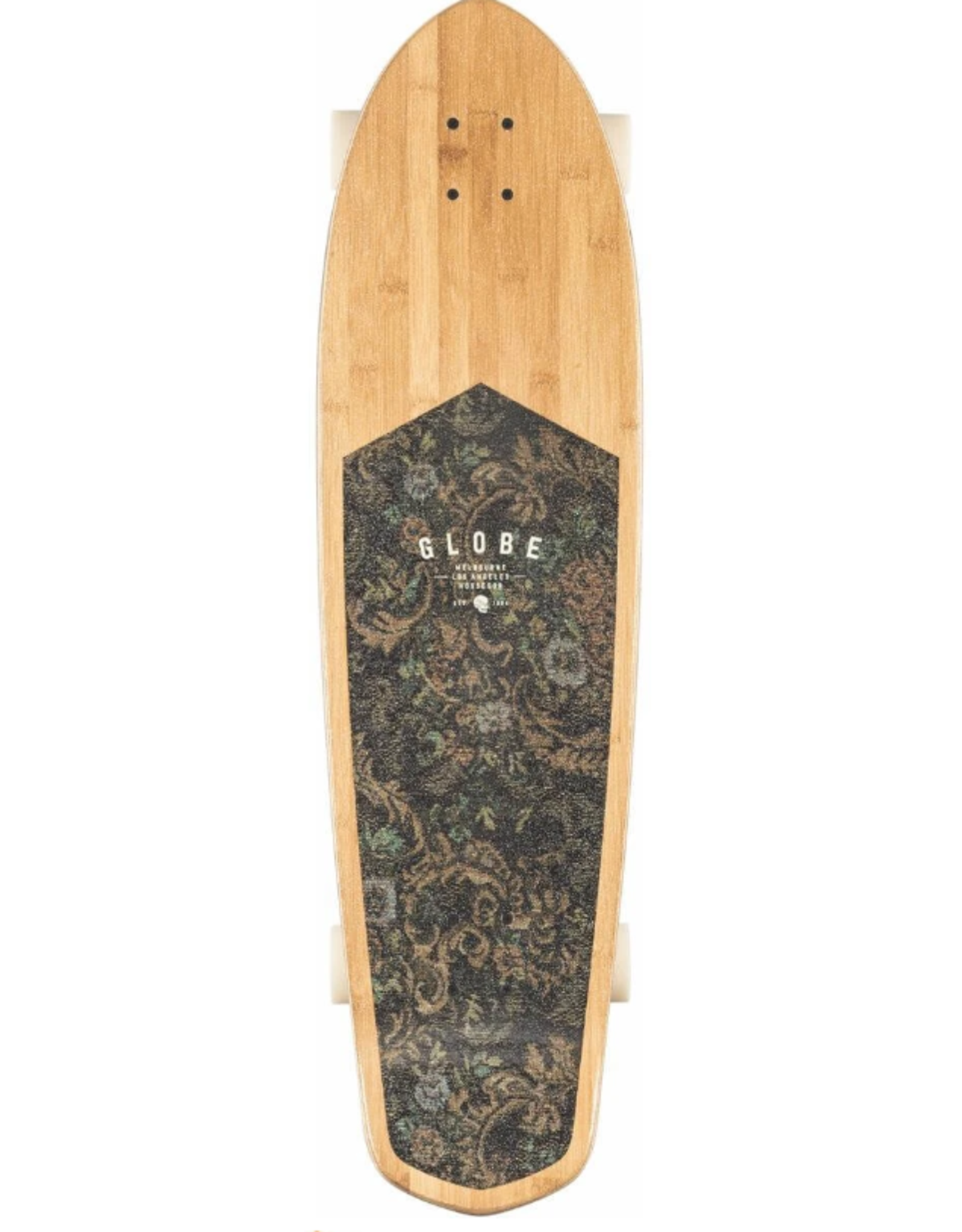 GLOBE BLAZER XL BAMBOO FLORAL COUCH LONGBOARD COMPLETE
