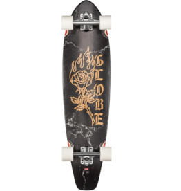 GLOBE THE ALL TIME BLACK ROSE LONGBOARD COMPLETE