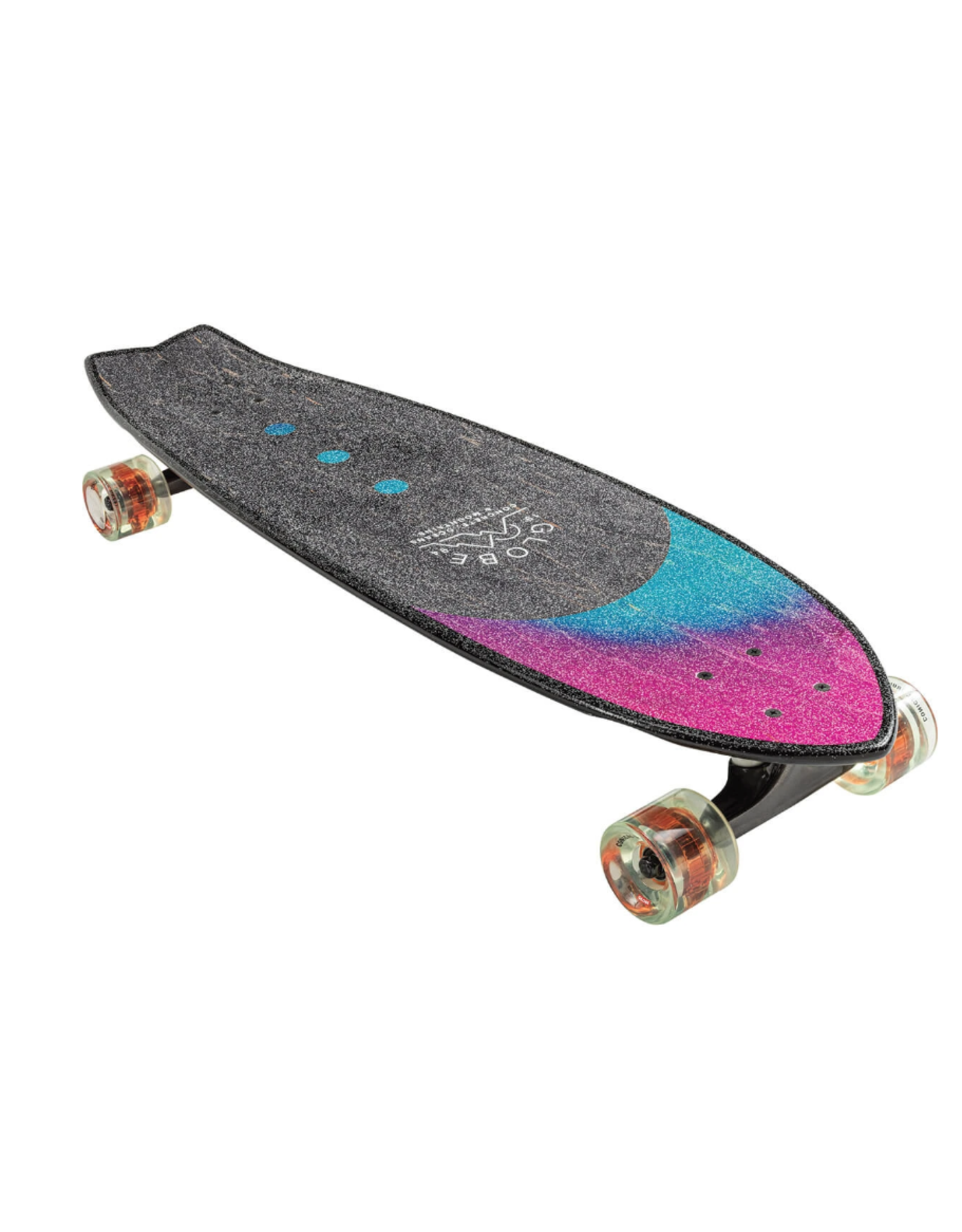 GLOBE CHROMATIC WASHED AQUA LONGBOARD COMPLETE