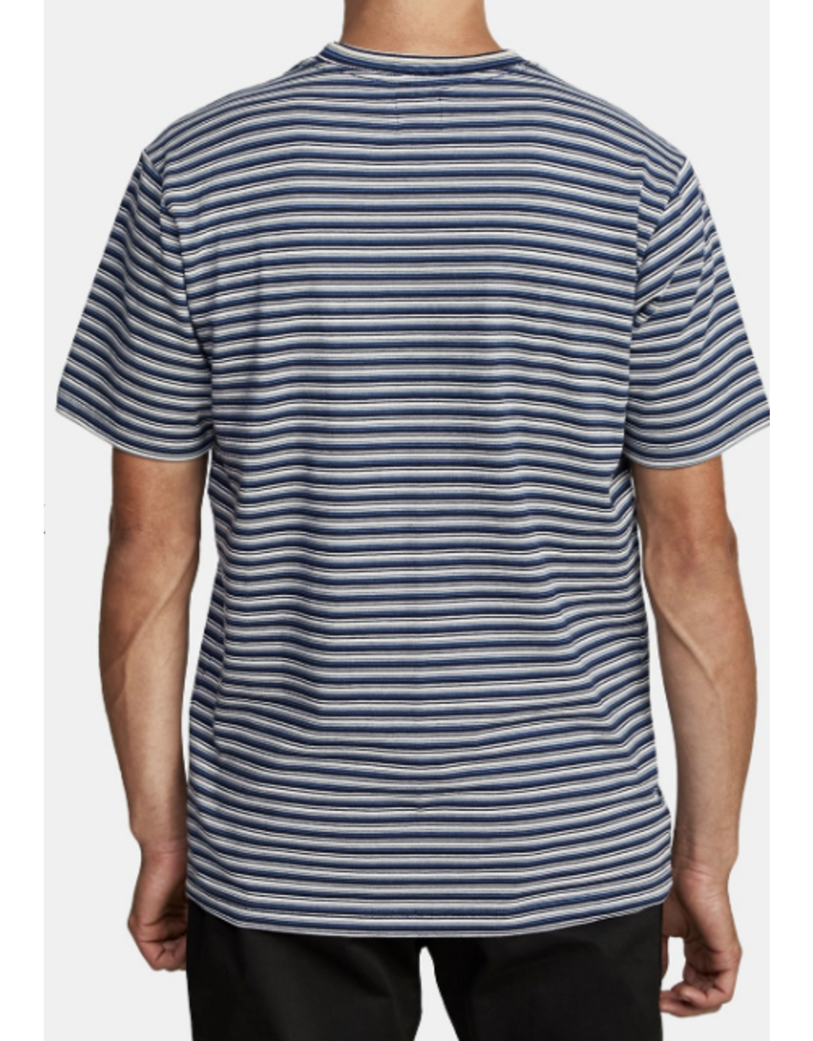 RVCA DOWNLINE STRIPE SHORT SLEEVE T-SHIRT
