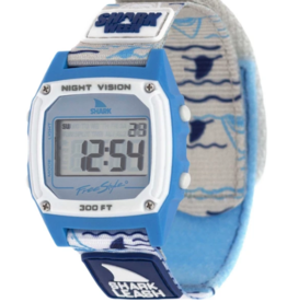 FREESTYLE FREESTYLE SHARK CLASSIC LEASH SHARK WEEK SWELL WATCH