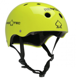 ProTec Classic Certified Helmet - Rental Yellow