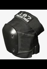 187 187 SLIM KNEE PAD XL BLK/BLK