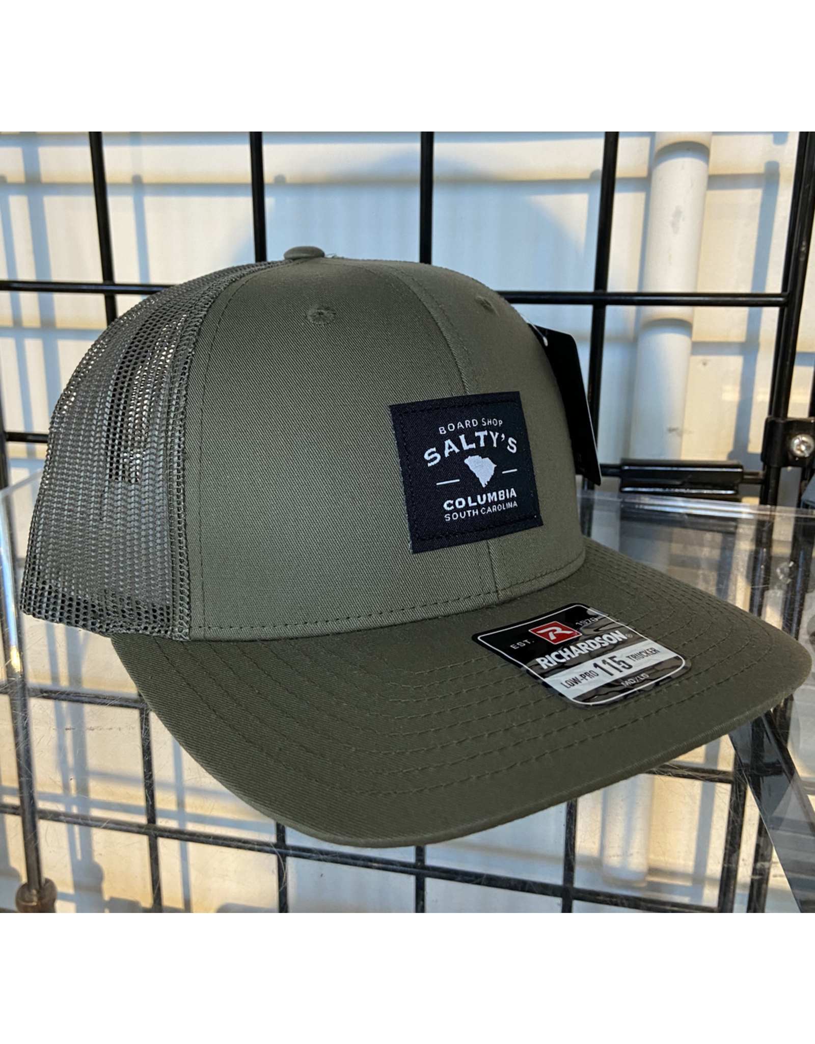115 SOLID LODEN SALTY'S TRUCKER HAT