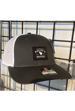 115 SPLIT CHARCOAL/WHITE SALTYS TRUCKER HAT