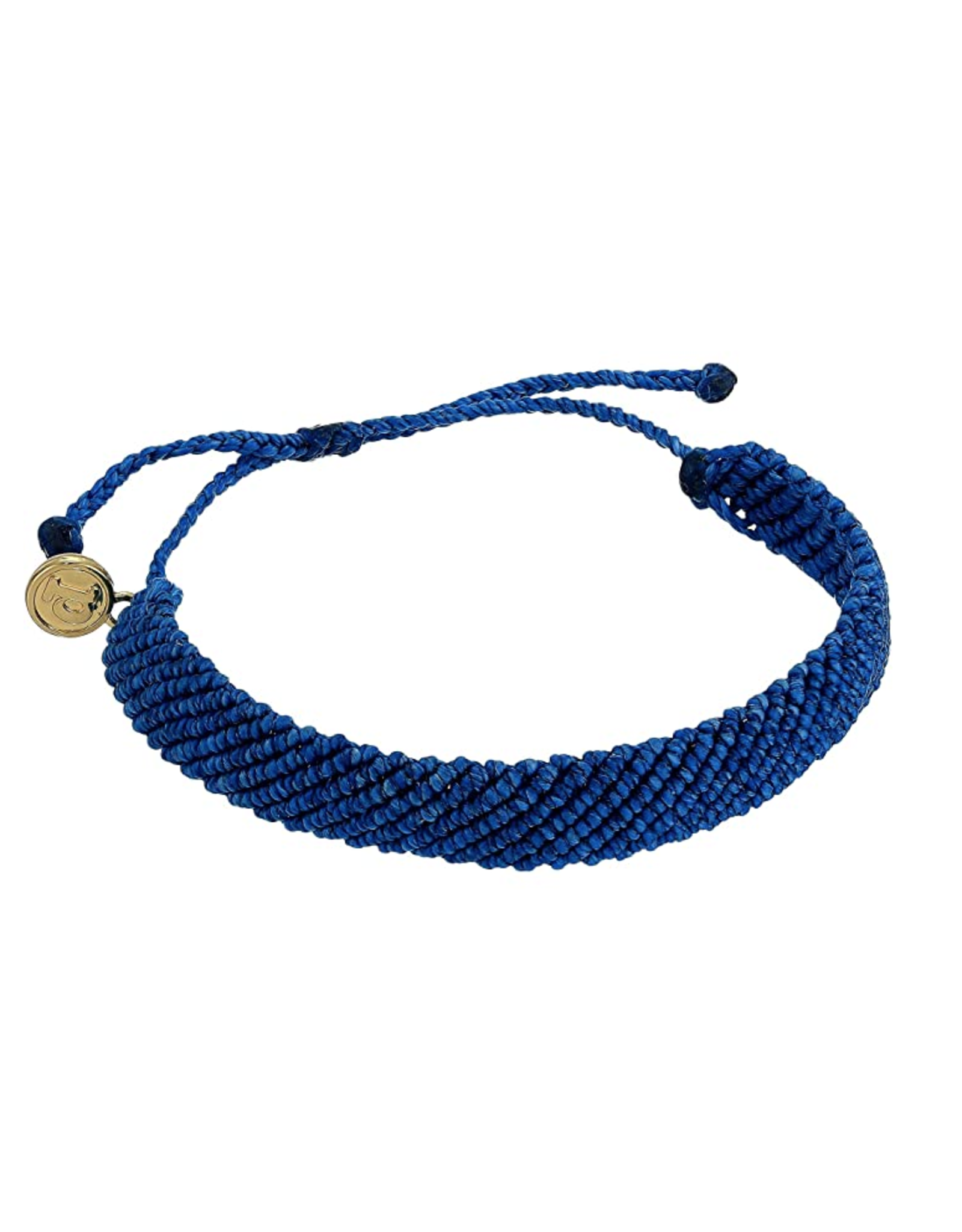 PURA VIDA FLATBRAIDED BLUE-TIFUL BRACELET