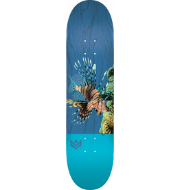 "MINI LOGO MINI LOGO POISON ""16"" SKATEBOARD DECK 242 K20 LION FISH - 8 X 31.45"