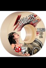 BONES BONES WHEELS PRO STF Skateboard Wheels Joslin GOAT 54mm V3 Slims 99a 4pk