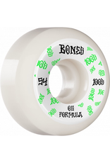 BONES BONES WHEELS OG Formula Skateboard Wheels 100 #3 54mm V5 Sidecut 4pk