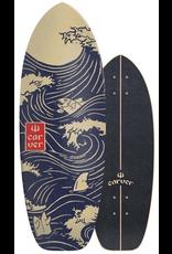 """CARVER SKATEBOARDS Carver 28"""" Snapper Surfskate Deck with grip"""