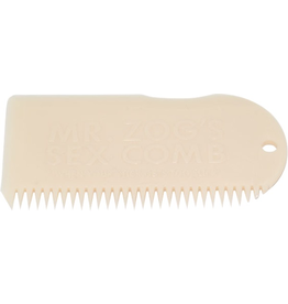 SEX WAX WAX COMB BONE WHITE