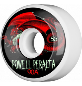 Powell Peralta Oval Dragon Skateboard Wheels 56mm 90A 4pk