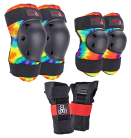 TRIPLE 8 SAVER 3/PK PADS JR - TIE DYE