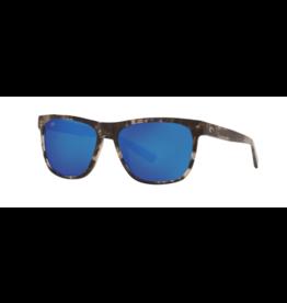 COSTA DEL MAR APALACH 223 SHINY BLACK KELP WITH BLUE MIRROR 580G