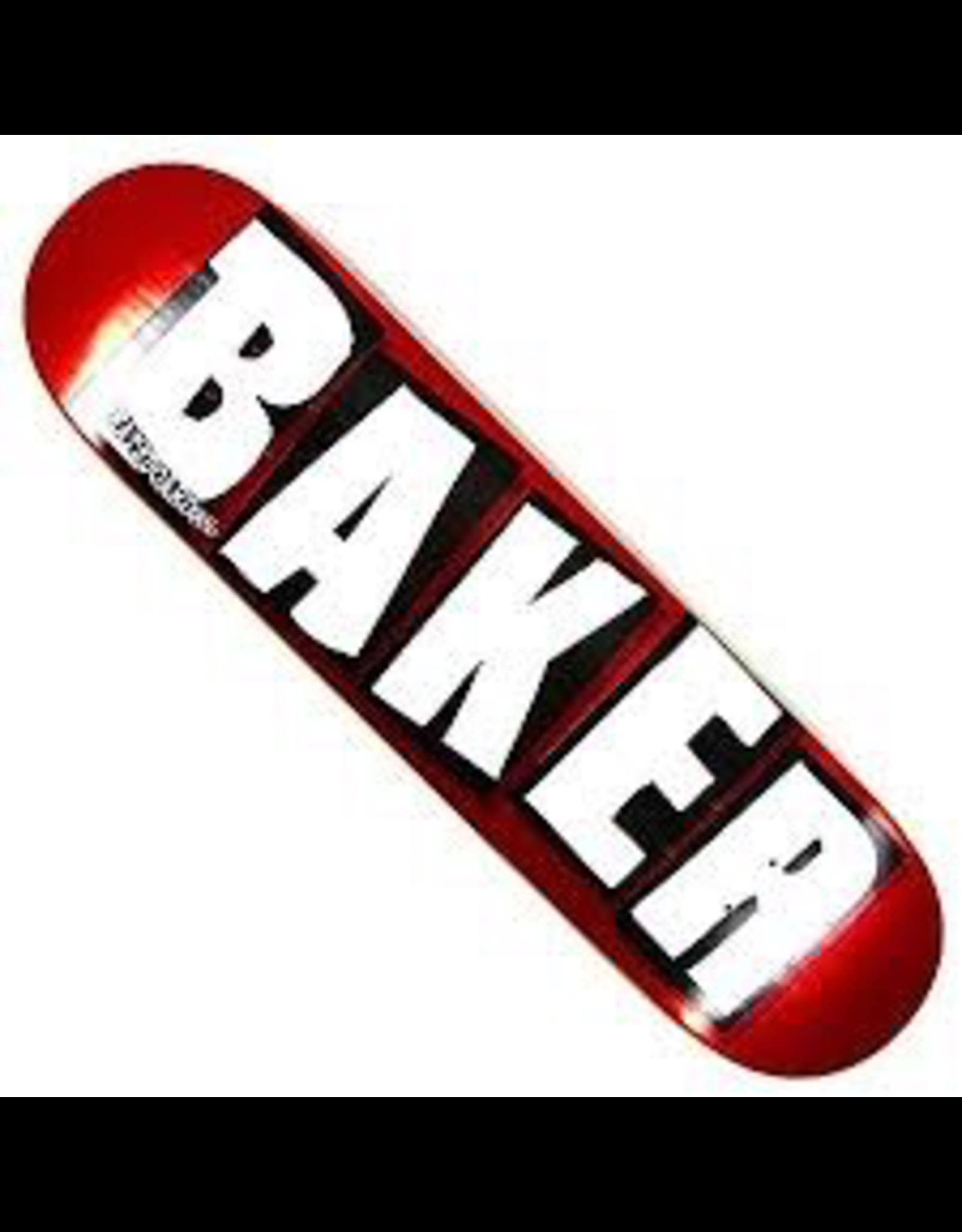 BAKER BAKER BRAND LOGO FOIL DECK - 8.5