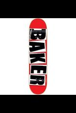 BAKER BAKER BRAND LOGO DECK - 8.475 RED/BLACK