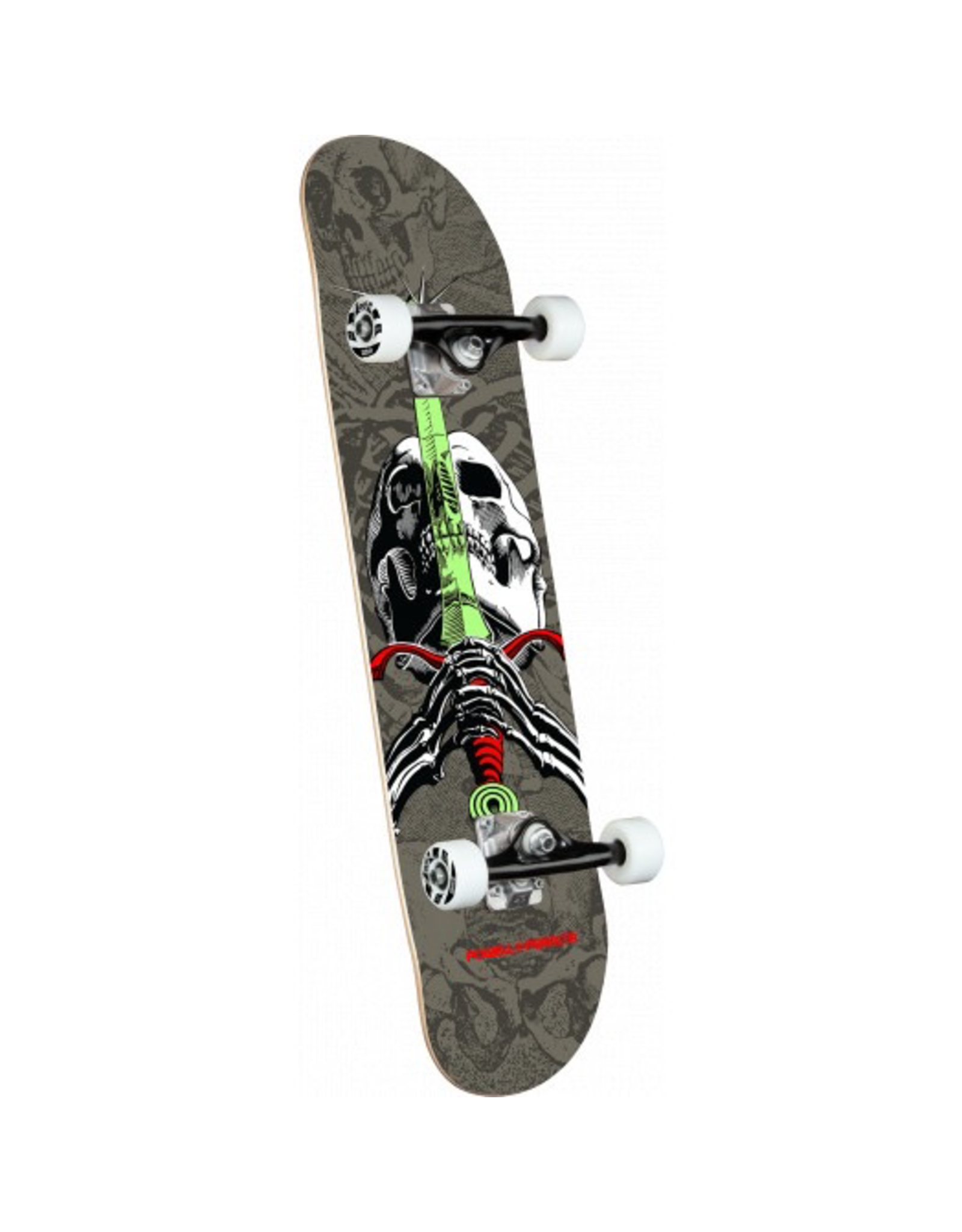 POWELL Powell Peralta Skull & Sword Gray Birch Complete Skateboard - 7.5 x 28.65