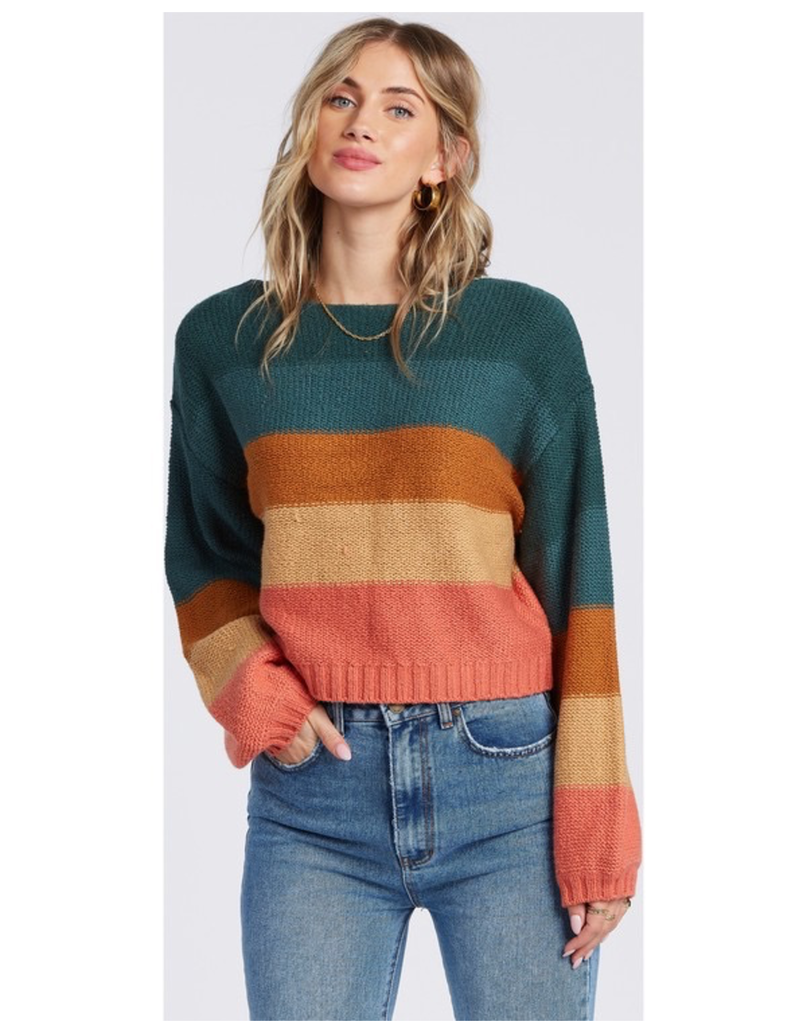 BILLABONG Billabong Seeing Stripes Sweater