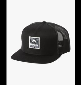 RVCA VA ATW PRINT TRUCKER HAT