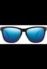 NECTAR NECTAR SUNGLASSES CRUX MATT BLACK FRAME - BLUE MIRROR LENS