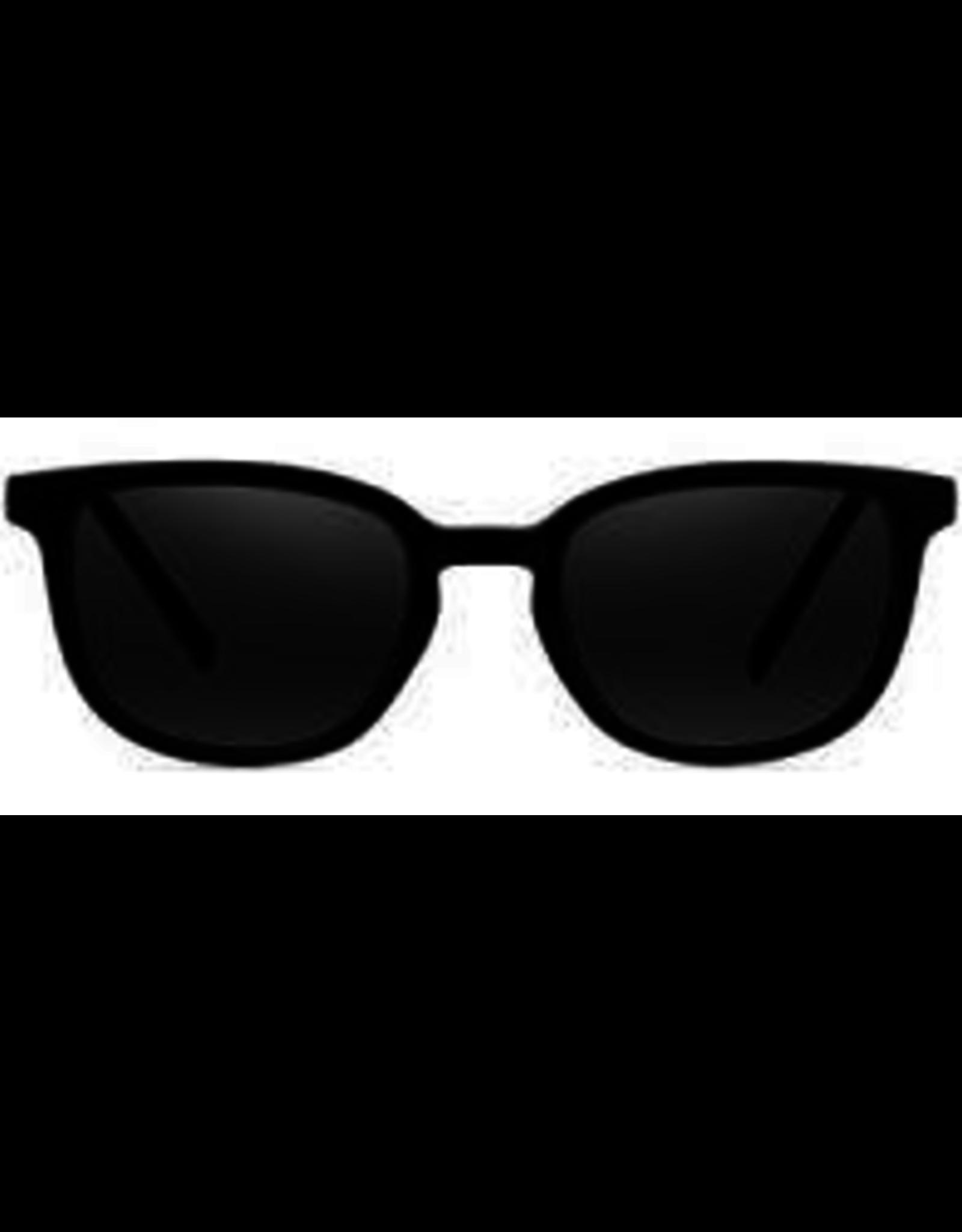 NECTAR NECTAR SUNGLASSES LOWCOUNTRY GLOSSY BLACK FRAME- SMOKE LENS