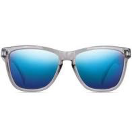 NECTAR NECTAR SUNGLASSES TIDE COLLECTION DUSTY BLUE FRAME - SILVER LENS
