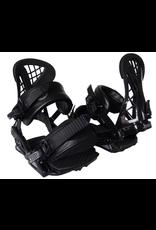 SANTA CRUZ • Multi-adjustable highback, base, 3D ankle strap, <br /> <br /> 3D toe strap and toe-ramp <br /> <br /> • Easy fit-to-size adjustments on straps and buckles <br /> <br /> • Custom fit cushioned 3D ankle strap <br /> <br /> • Custom fit cushioned 3D toe-cap strap