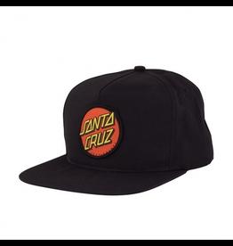 SANTA CRUZ SANTA CRUZ CLASSIC DOT SNAPBACK HIGH PROFILE HAT - YOUTH
