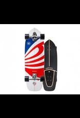 """CARVER SKATEBOARDS Carver 30.75"""" USA Booster Surfskate Complete"""