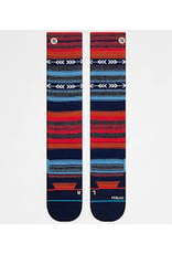 STANCE Fill your sock drawer in colorful style with a pair of Stance Kirk 2 snowboard socks. Heavily padded footbeds keep you comfortable through even your heaviest riding days, while the classic tribal pattern throughout adds a bold accent to all your favorite