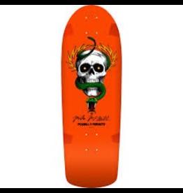 POWELL Powell Peralta McGill Skull and Snake Skateboard Deck Orange - 10 x 30.125