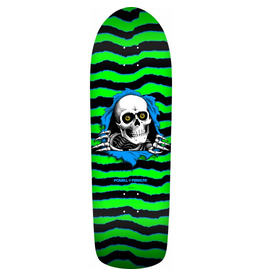 POWELL Powell-Peralta™ Re-Issue Construction<br /> <br /> Powell-Peralta re-issue decks are close reproductions of their counterparts, featuring the original Pro graphics and shape, top graphic logo and concave. They are manufactured in our Santa Barbara skateboard factory,
