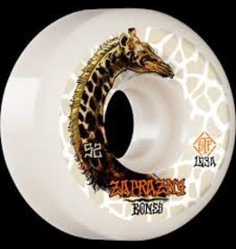 BONES Marek Zaprazny Pro Model<br /> <br /> Giraffe II<br /> 52x30<br /> V5 Sidecut<br /> street tech formula 99a<br /> white