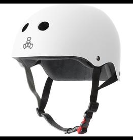 TRIPLE 8 Triple Eight Brainsaver Skateboard Helmet - White Rubber