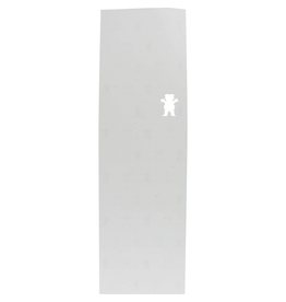 "GRIZZLY Features: One (1) sheet of Clear Premium Grizzly Grip Tape Bear Cutout Clear Griptape from Grizzly<br /> Sheet Size: 10"" x 33""<br /> Formulated with long-lasting glue to provide the best grip<br /> Perfect, fine-grit texture and smooth cutting<br /> Great for skateboards, cruise"