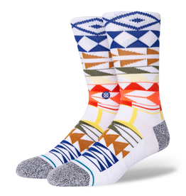STANCE WARRIOR PRINT Mid Cushion Socks