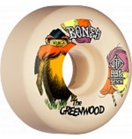 BONES BONES WHEELS PRO STF Skateboard Wheels The Greenwood 52mm V5 Sidecut 99a 4pk