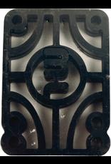 "mini logo Mini Logo .25"" Rigid Riser (2 pack)"