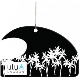 ULU LAGOON White Palms Mini Wave Air Freshener (Coconut Surf Wax Scent)