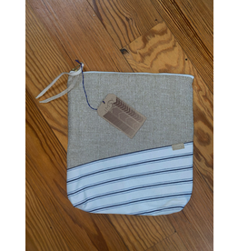 IMSY Swimwear JAMESTOWN CLUTCH CANVAS/STRIPE