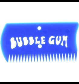 BUBBLE GUM WAX COMB W/BOX BLUE