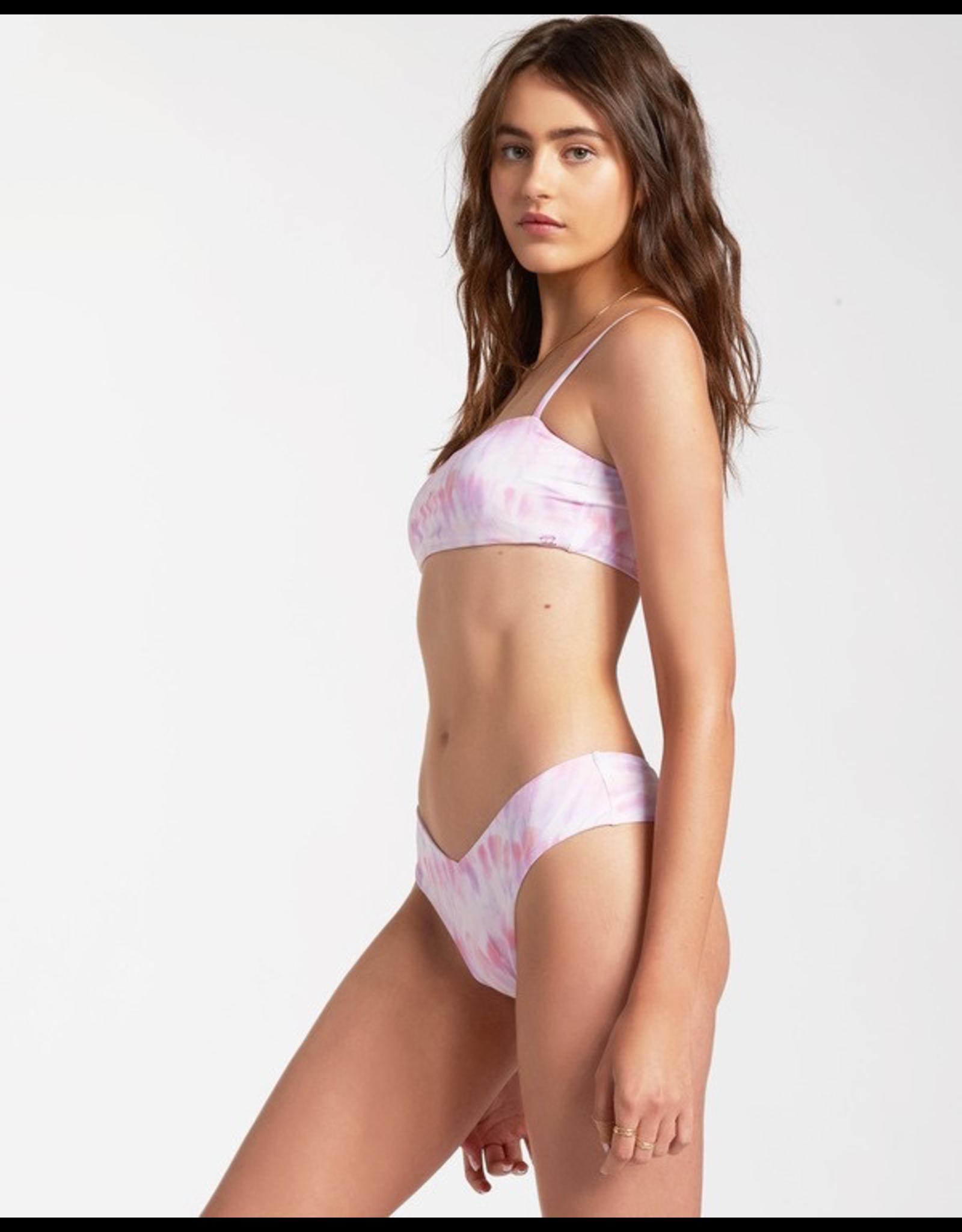 Keep It Mellow Strappy Tank Bikini Top