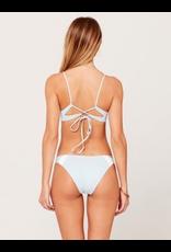 L*SPACE Bodhi Blocked Bikini Top