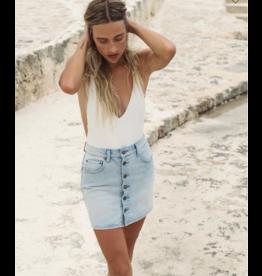 BILLABONG Good Life Denim Skirt
