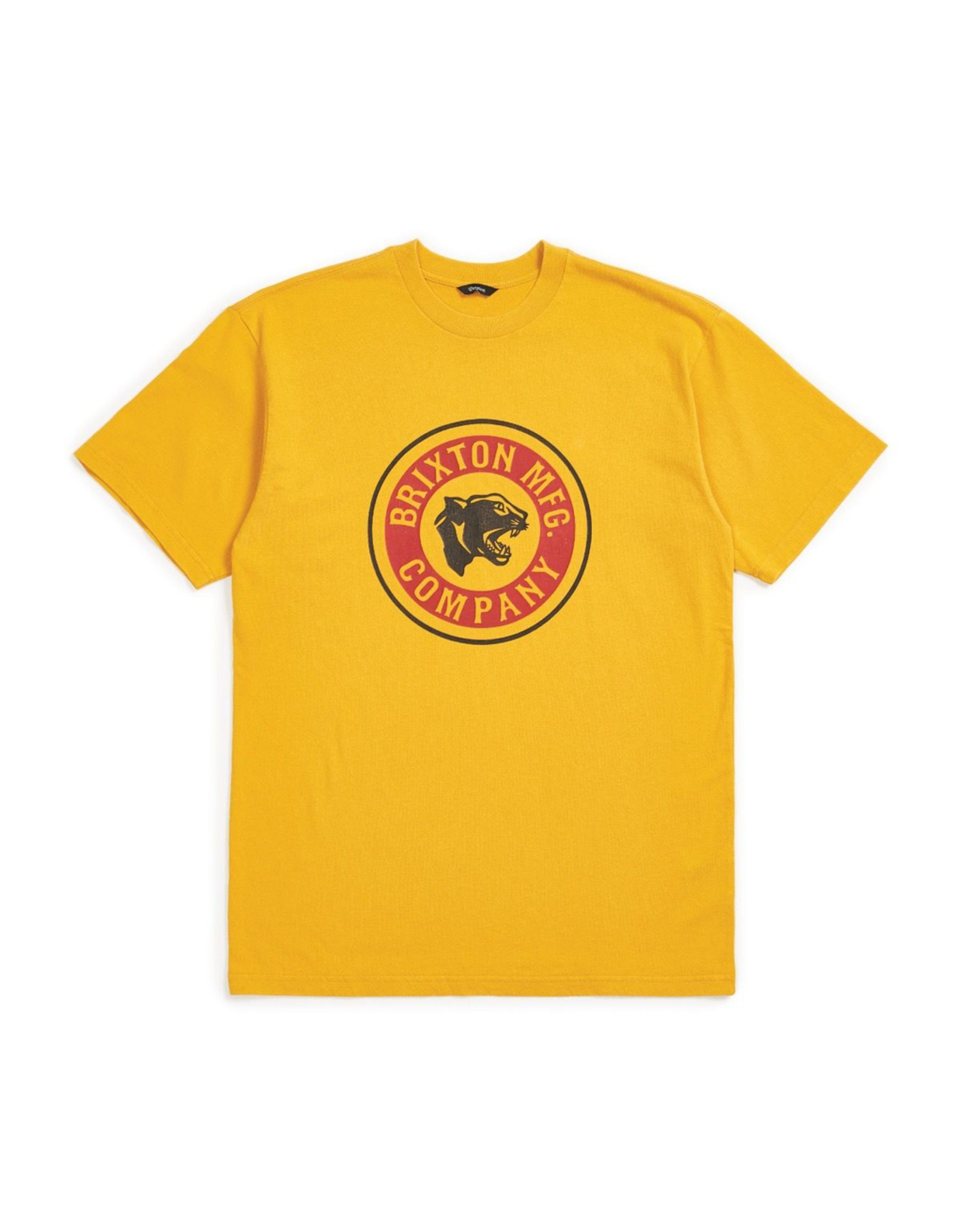 BRIXTON BRIXTON FORTE S/S STANDARD TEE (NUGGET GOLD)